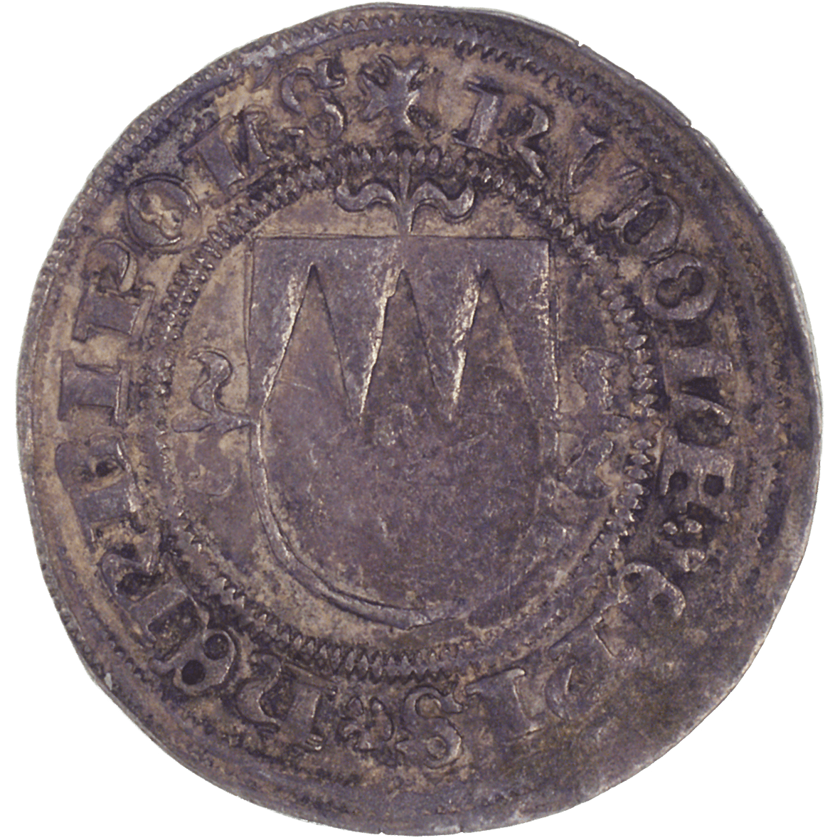 Holy Roman Empire, Bishopric of Würzburg, Rudolf II of Scherenberg, Shilling  (obverse)