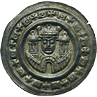 Holy Roman Empire, Frederick II of Hohenstaufen, Bracteate (obverse)