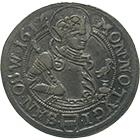 Holy Roman Empire, City of Zug, Dicken 1612 (obverse)