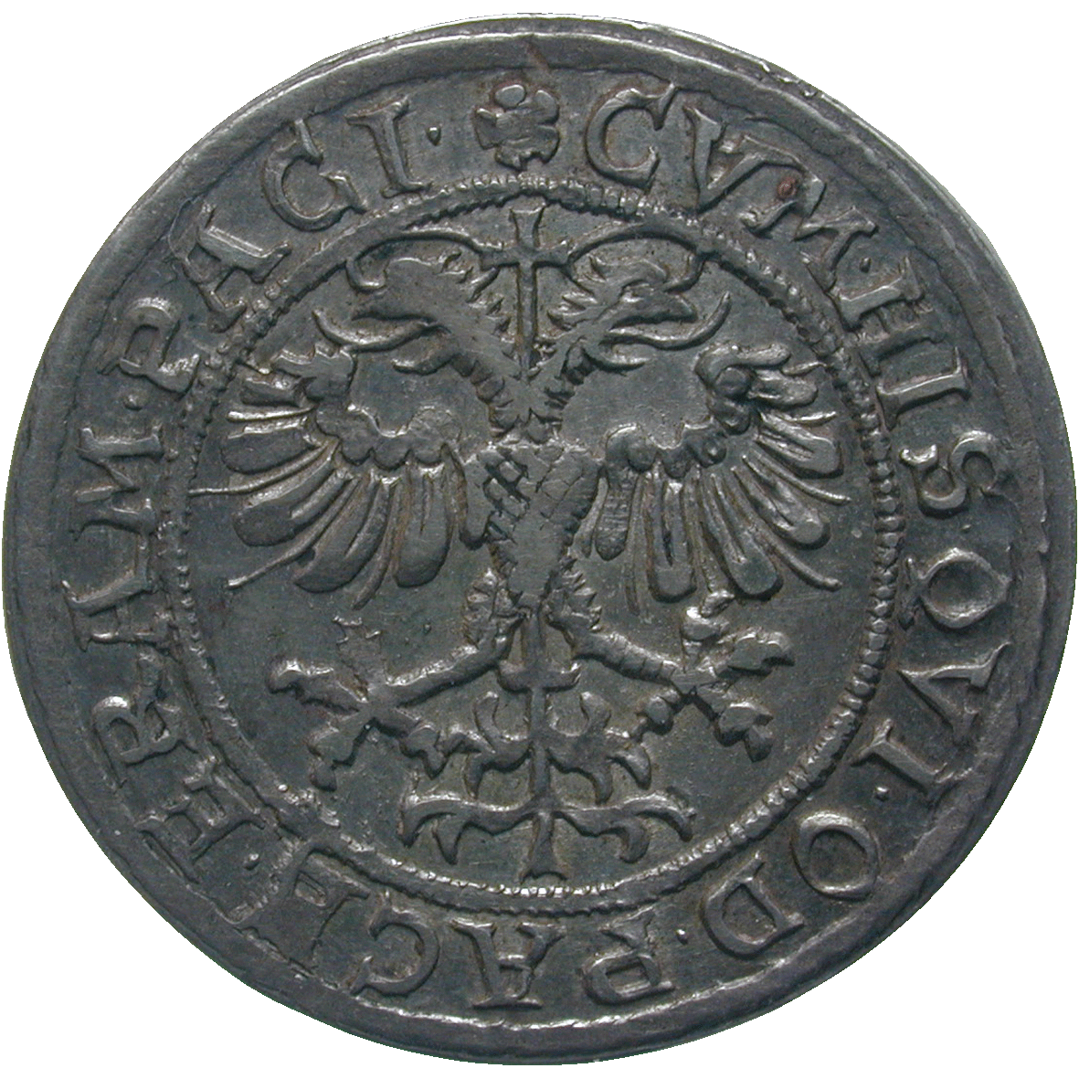 Holy Roman Empire, City of Zug, Dicken 1612 (reverse)