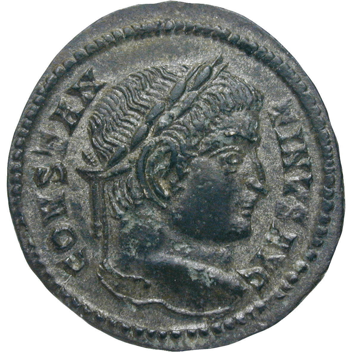Roman Empire, Constantine the Great, Bronze Coin (obverse)
