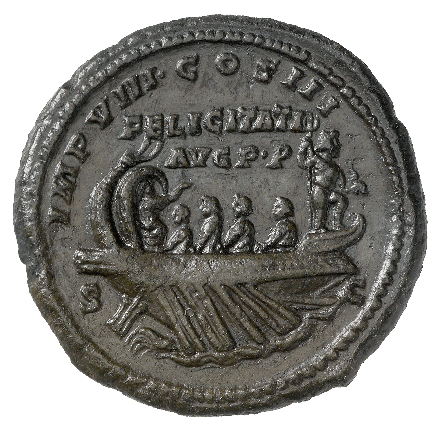 Roman Empire, Marcus Aurelius, As (reverse)