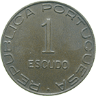 Republic of Portugal for Mozambique, 1 Escudo 1945 (obverse)