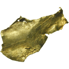 Alaska, Rhode Island Creek, Manley Hot Springs, Gold Nugget (obverse)