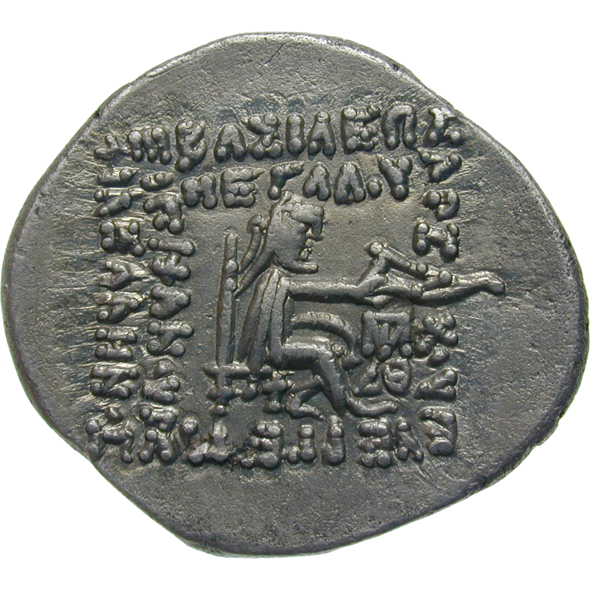 Partherreich, Phraates III., Drachme (reverse)
