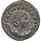 Roman Empire, Philip the Arab for Otacilia Severa, Denarius (obverse)
