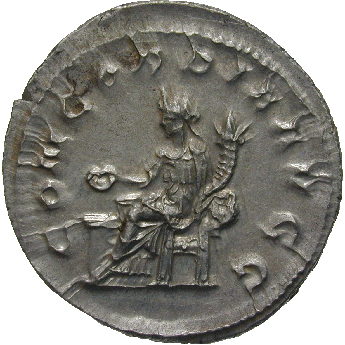 Roman Empire, Philip the Arab for Otacilia Severa, Denarius (reverse)