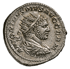 Roman Empire, Caracalla, Antoninianus (obverse)