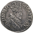Kingdom of Denmark, Christian IV, Heavy Half Crown 1625 (obverse)