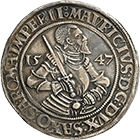 Holy Roman Empire, Duchy of Saxony, Maurice of Saxony, Taler 1547 (obverse)
