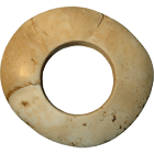 Papua New Guinea, Boiken People, Wenga Clam Shell Ring (obverse)