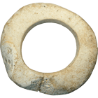 Melanesia, Solomon Islands, Mbarake Clam Shell Ring (obverse)