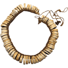 Papua New Guinea, Milne Bay Province, Necklace from Conus Shell Beads (obverse)