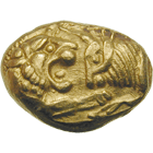 Kingdom of Lydia, Croesus, Light Stater (obverse)