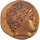 Phyrgia, Abydos, Stater in the Name of Philip II (obverse)