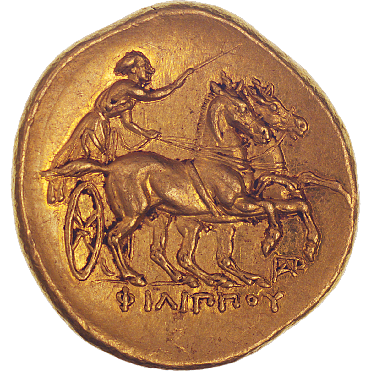 Phyrgia, Abydos, Stater in the Name of Philip II (reverse)
