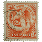 Indonesia, Papua, Post Stamp 2 Pence, 1952  T (obverse)