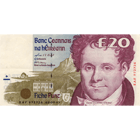 United Kingdom of Great Britain, Republic of Ireland, 20 Irish Pounds (obverse)