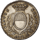 Canton of Solothurn, Time of Mediation, 4 Francs 1813 (obverse)