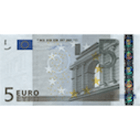 European Union, 5 Euro 2002 (obverse)