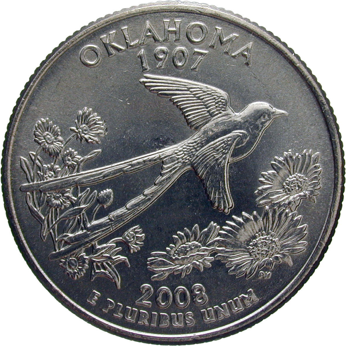 United States of America, Quarter Dollar 2008 (reverse)