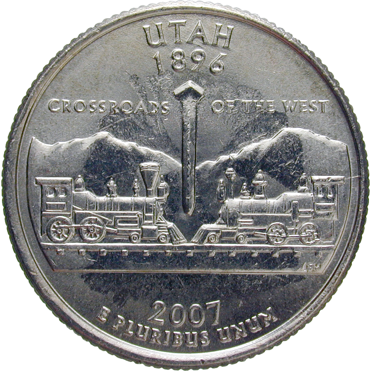 United States of America, Quarter Dollar 2007 (reverse)