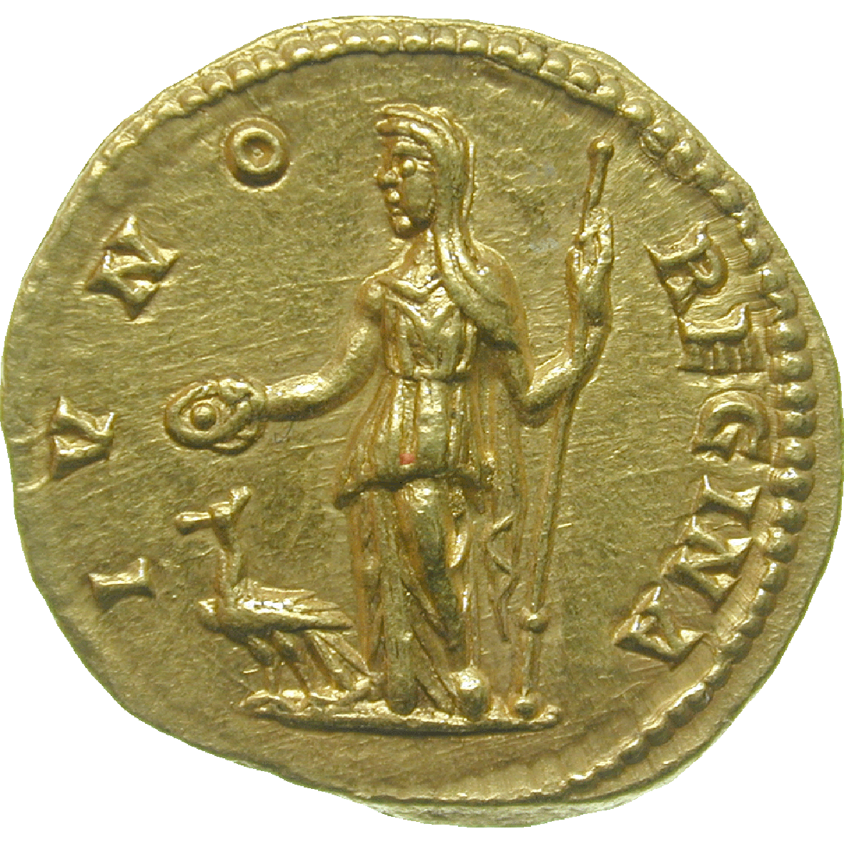 Roman Empire, Septimius Severus for his Wife Julia Domna, Aureus (reverse)
