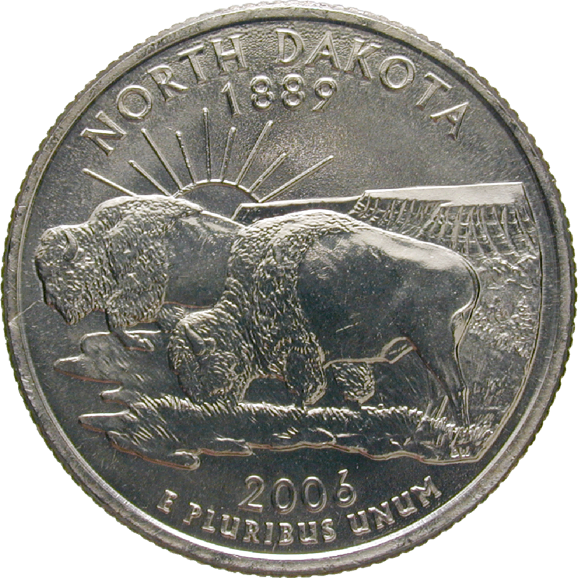 United States of America, Quarter Dollar 2006 (reverse)