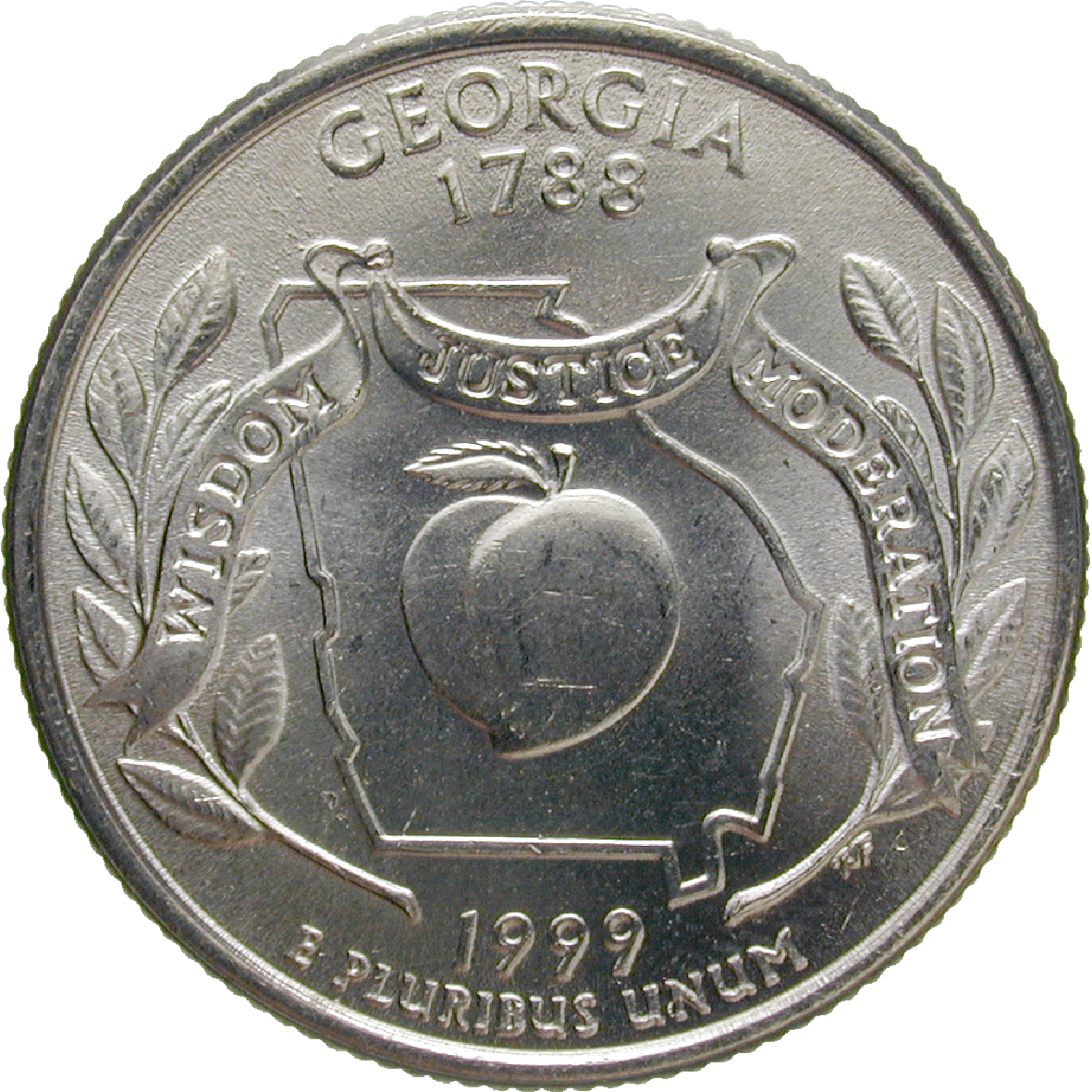 United States of America, Quarter Dollar 1999 (reverse)