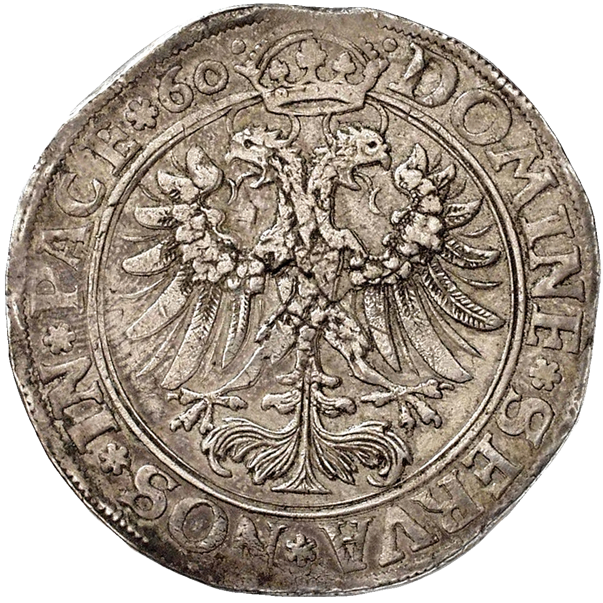 Holy Roman Empire, City of Zurich, Taler 1560 (reverse)