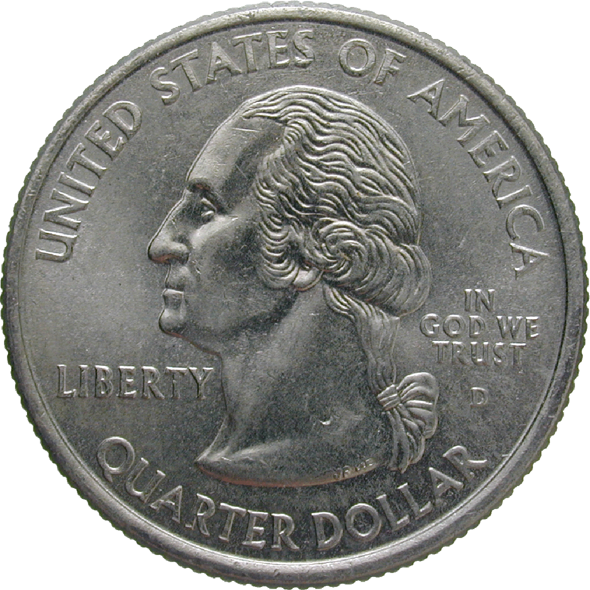 United States of America, Quarter Dollar 2000 (obverse)
