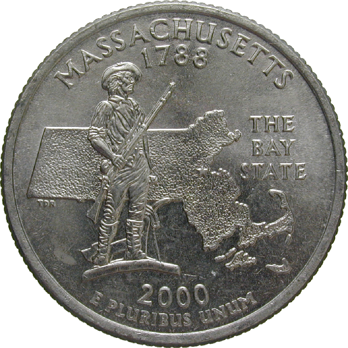 United States of America, Quarter Dollar 2000 (reverse)