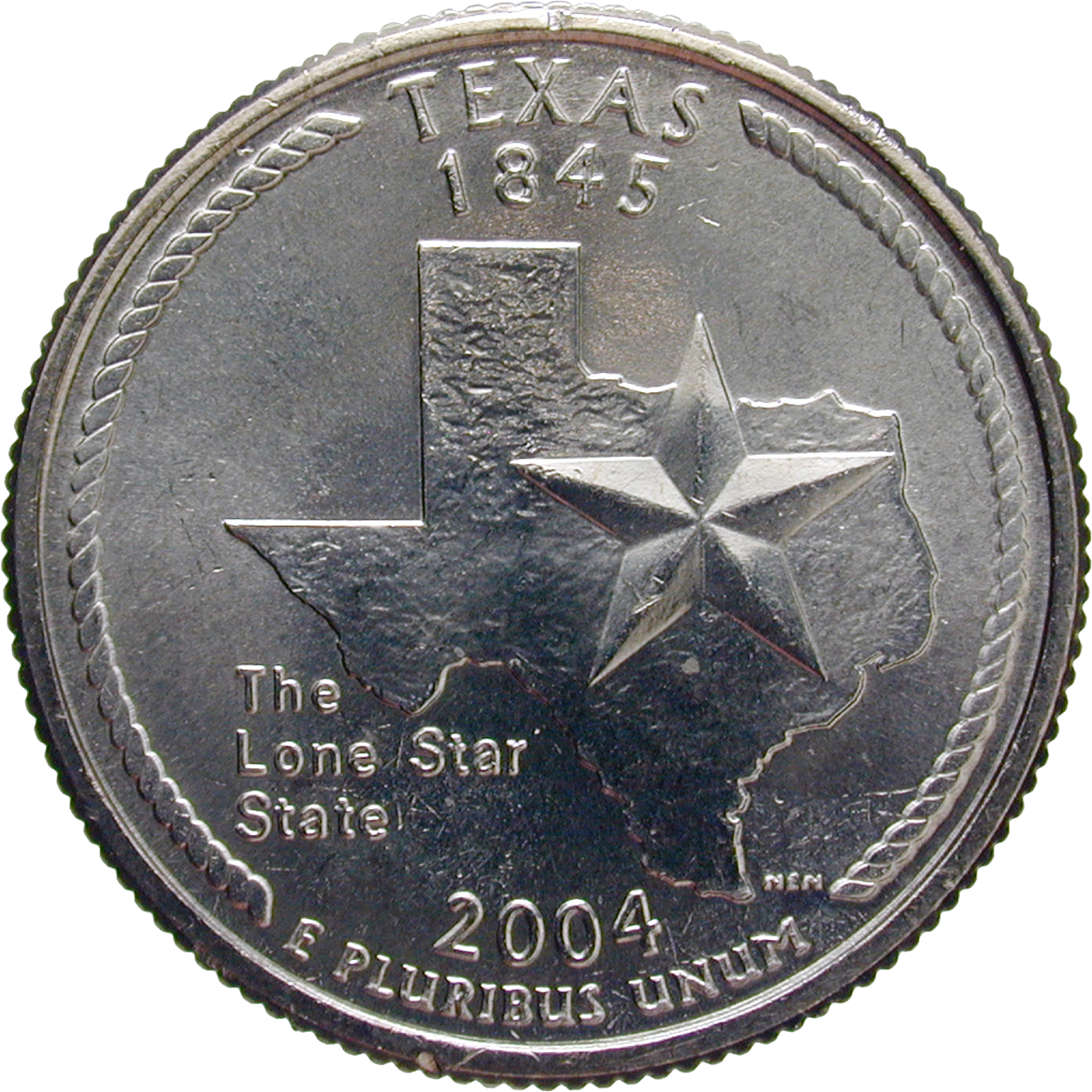 United States of America, Quarter Dollar 2004 (reverse)
