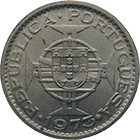 Republic of Portugal for Portuguese Guinea, 5 Escudos 1973 (obverse)