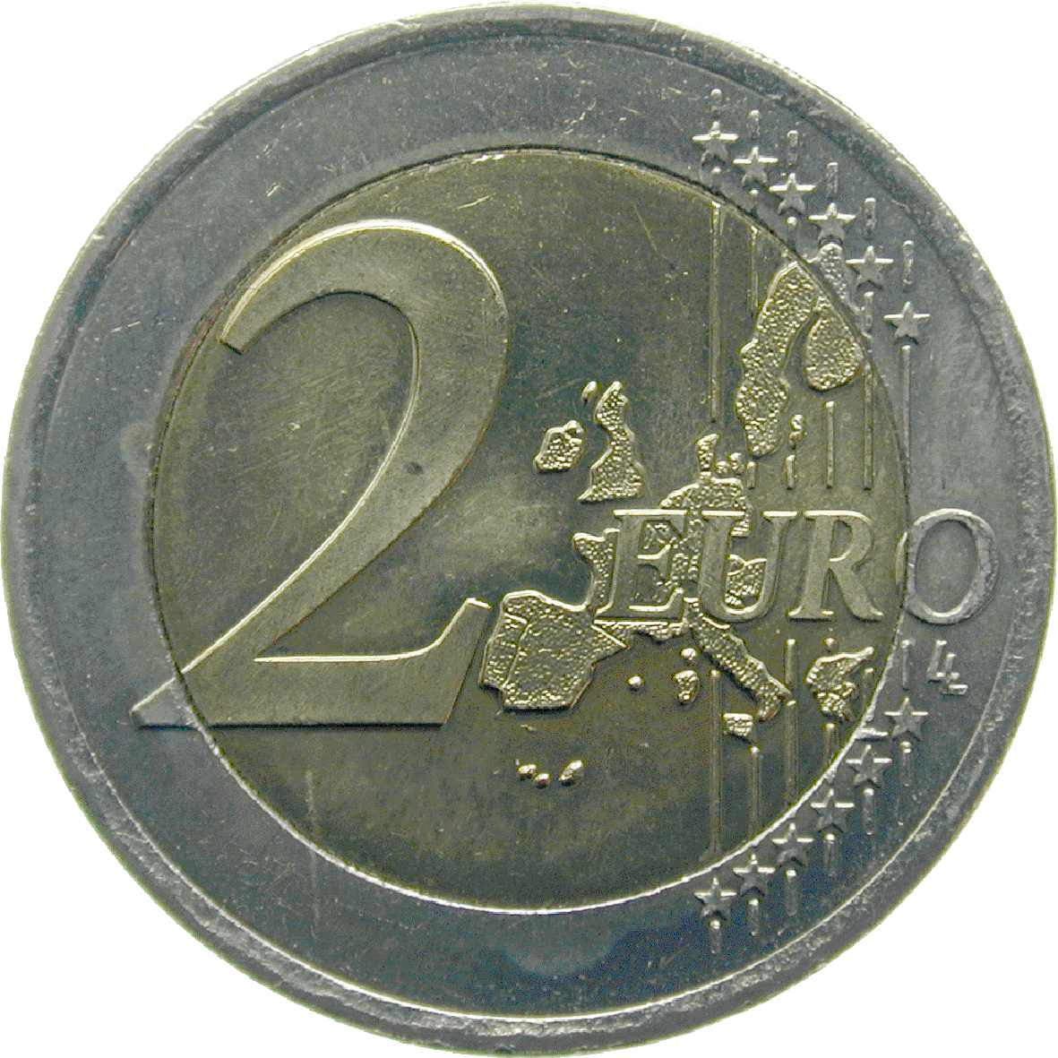 Republic of Austria, 2 Euro 2002 (obverse)