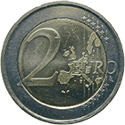 Republic of Ireland, 2 Euros 2002 (obverse)