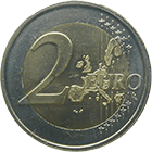 Grand Duchy of Luxembourg, Henri, 2 Euro 2002 (obverse)