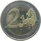 Republic of Slovenia, 2 Euro 2008 (obverse)