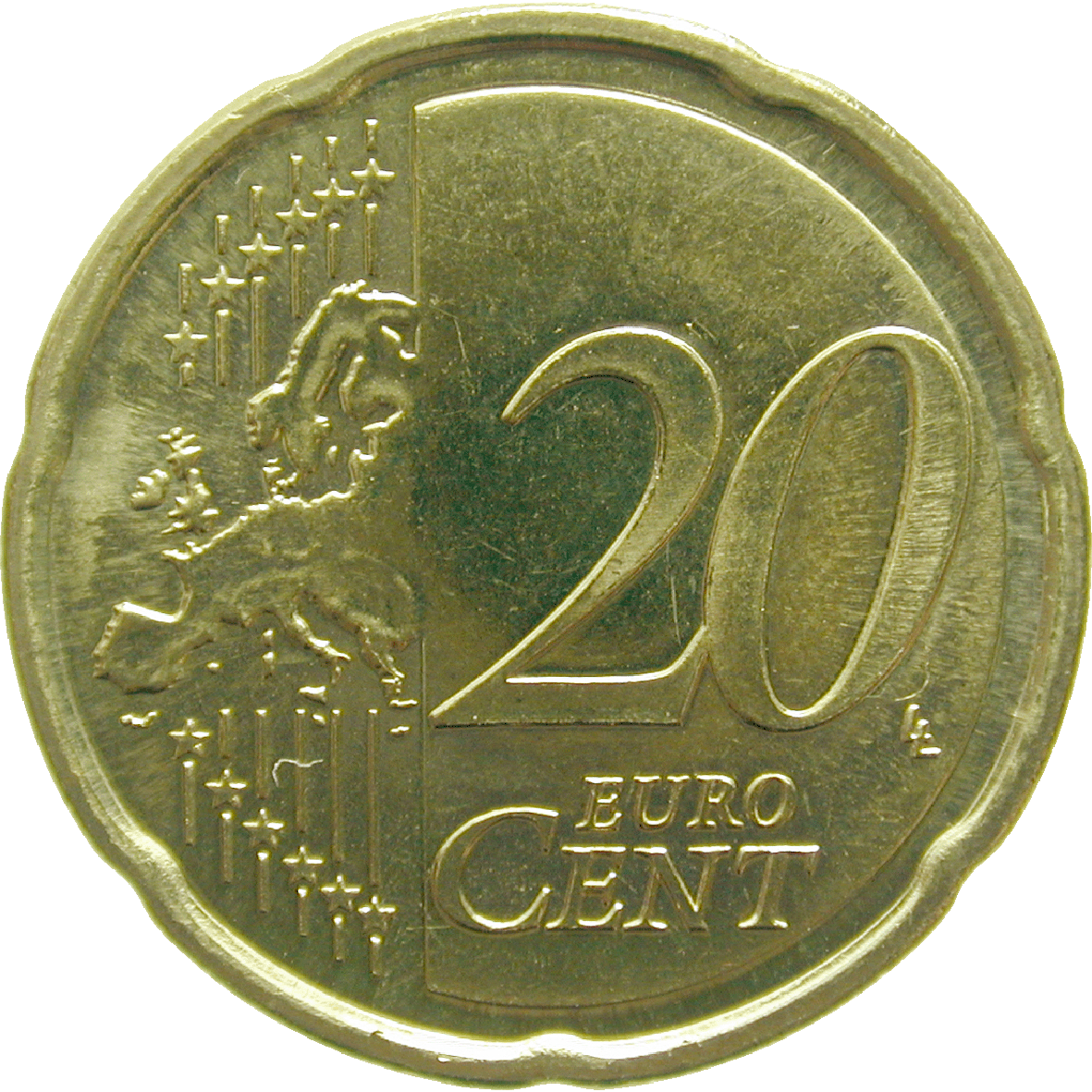 Republik Slowenien, 20 Eurocent 2008 (obverse)