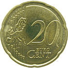 Republic of Slovenia, 20 Euro Cent 2008 (obverse)