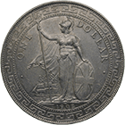 United Kingdom of Great Britain, Edward VII, Trade Dollar 1902 (obverse)