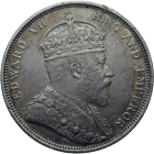 United Kingdom of Great Britain for the Straits Settlements, Edward VII, 1 Dollar 1904 (obverse)