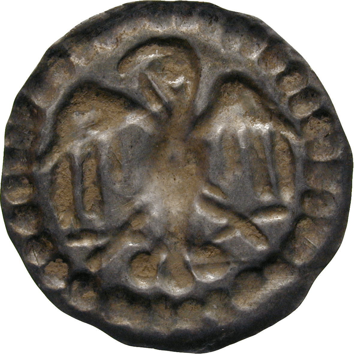 Holy Roman Empire, Frederick II of Hohenstaufen, Bracteate (reverse)