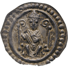 Holy Roman Empire, Bishopric of Constance, Konrad of Tegernfeld, Bracteate (obverse)