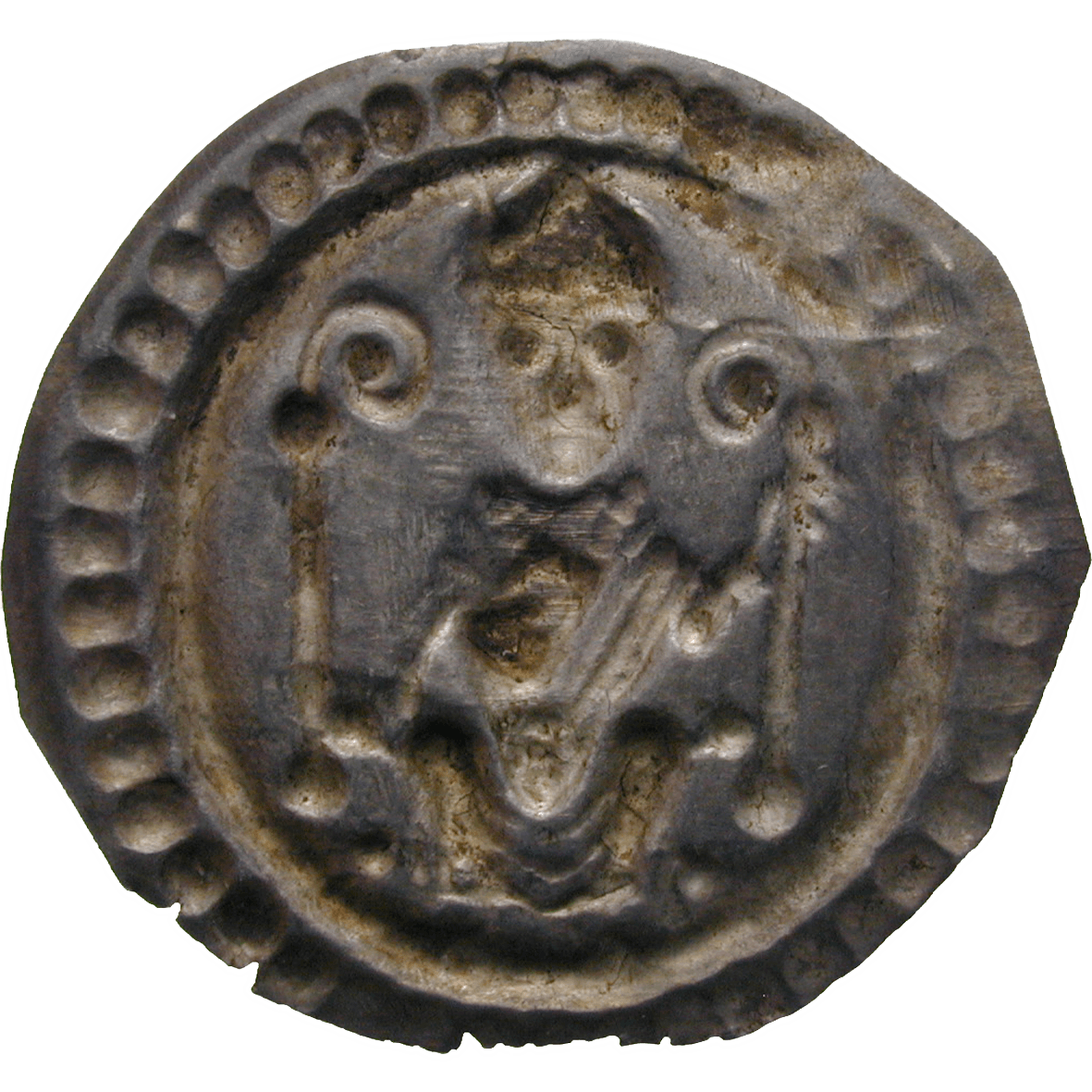 Holy Roman Empire, Bishopric of Constance, Konrad of Tegernfeld, Bracteate (reverse)