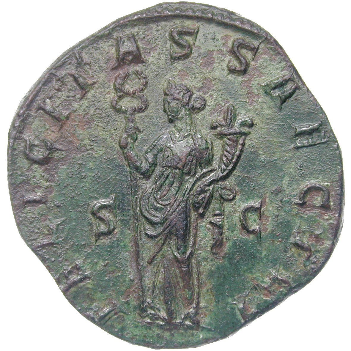Roman Empire, Traianus Decius, Double Sesterce (reverse)