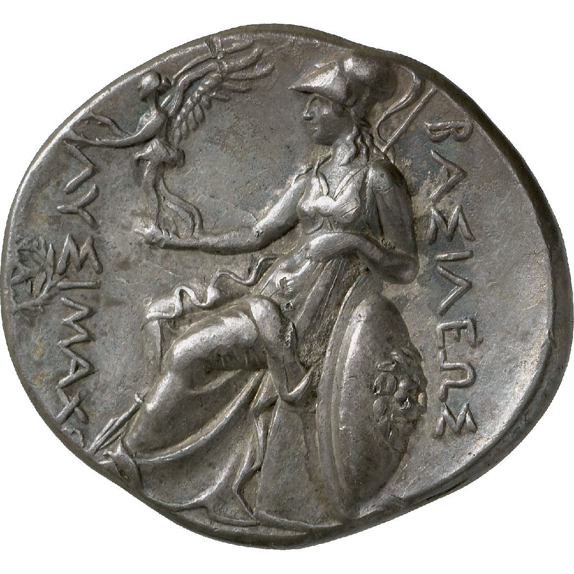 Kingdom of Thrace, Lysimachus, Tetradrachm (reverse)