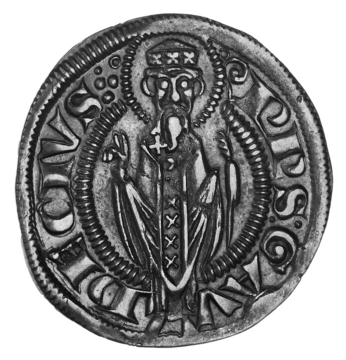 Holy Roman Empire, City of Rimini, Grosso (obverse)