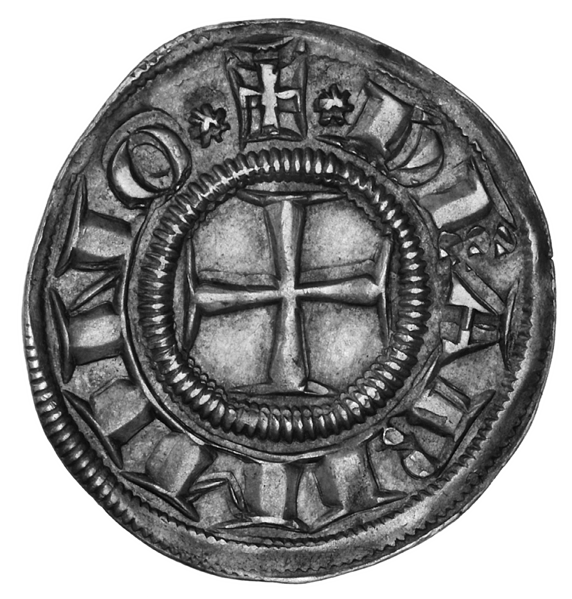Holy Roman Empire, City of Rimini, Grosso (reverse)