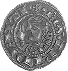 Holy Roman Empire, Archdiocese of Trento, Egnone d'Appiano, Grosso (obverse)